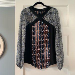 BCBG Long sleeve blouse